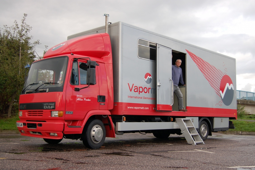 Vapormatt International Demonstration Vehicle