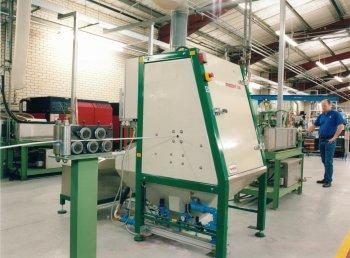 Vapormaster 1210 wire preparation system, Vapormatt, Guernsey