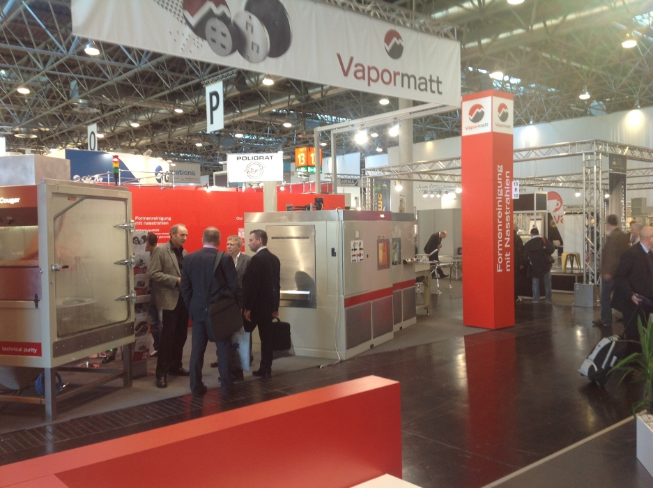 Aluminium 2012 Exhibition, Dusseldorf, Germany, Vapormatt