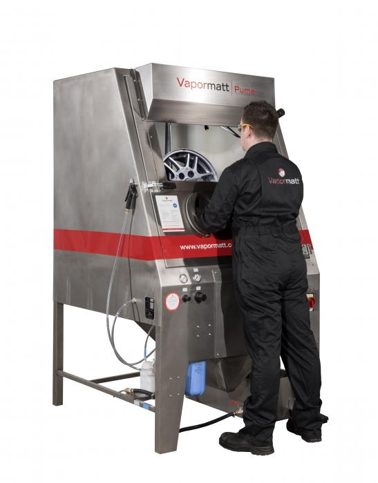 SMART alloy, Wheel repair, Vixen surface, Wet blasting machine