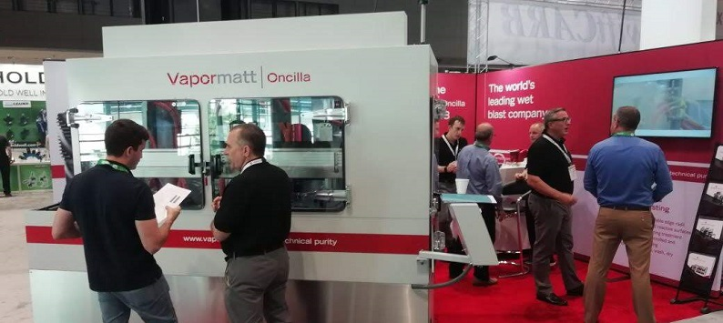 Vapormatt's Oncilla launch at the IMTS show