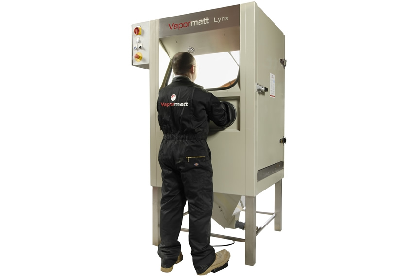 Rent or Buy New and Used Manual Wet Blast Cabinets | Vapormatt