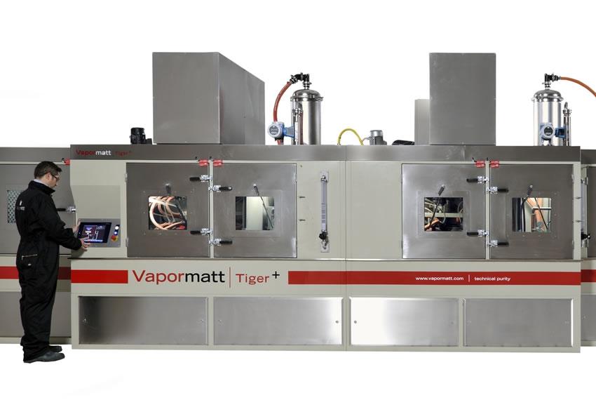 Vapormatt Tiger+ Processing Centre