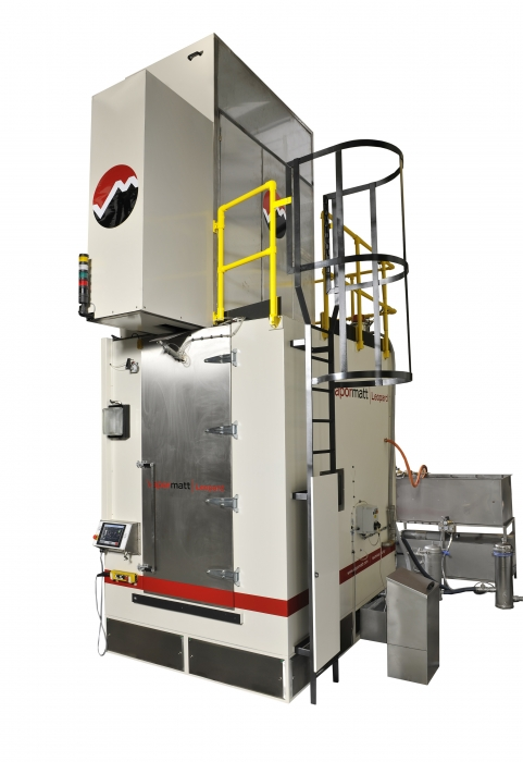 Wet blasting machine, Chinese aerospace sector, Vapormatt