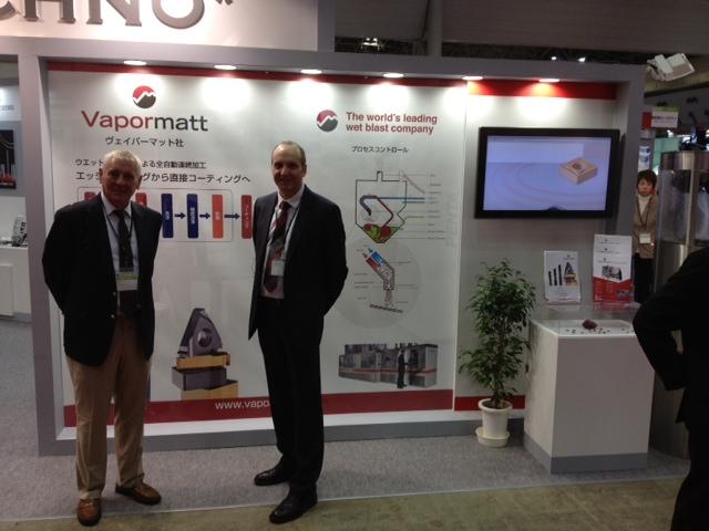 Eurotechno Stand, JIMTOF 2012, Japan, Vapormatt