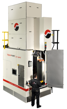 Leopard Machine, Wet Blasting Systems, Vapormatt