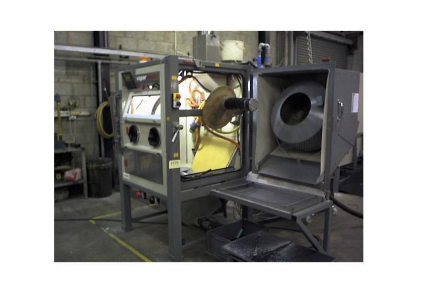 1212 Barrel Wet Blast Machine - Refurbished