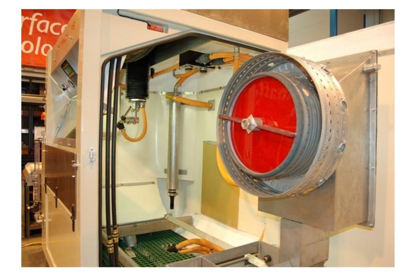 Cougar Wet Blast Machine - Refurbished Interior