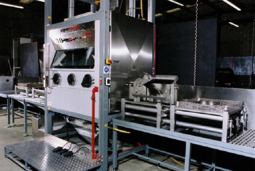 Decomatt technology in a 1717 machine