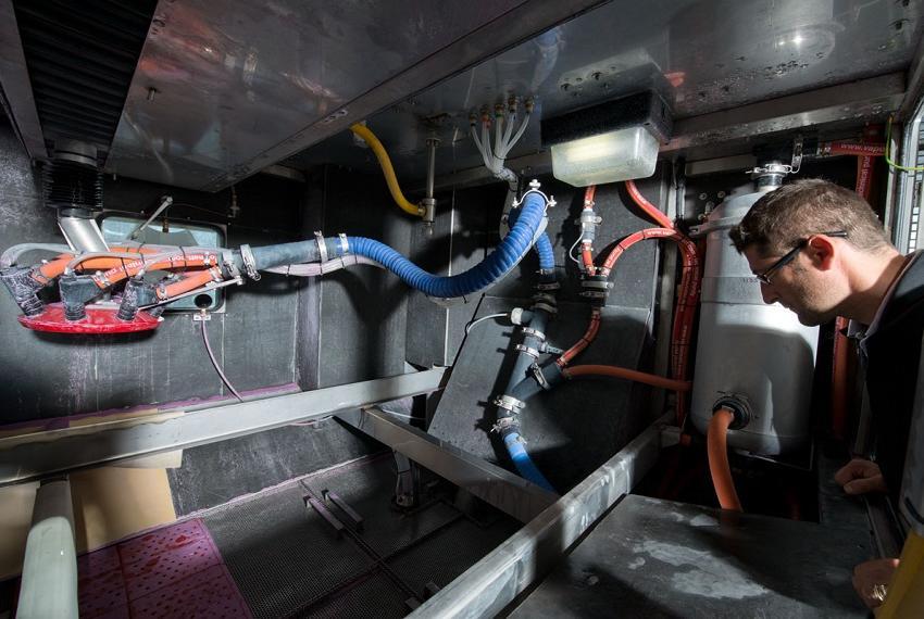 Inside of a Jaguar