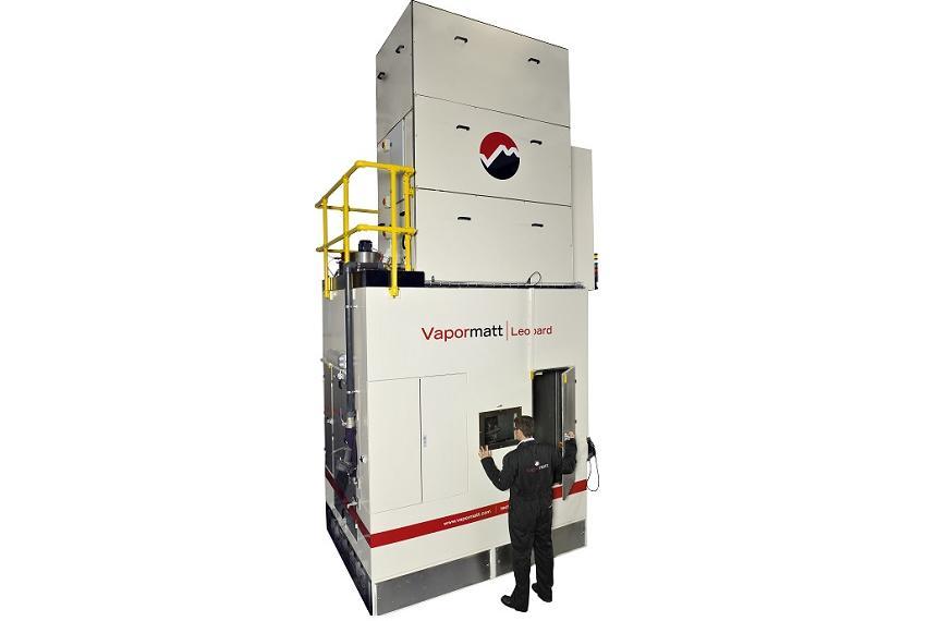 Leopard Vertical machine