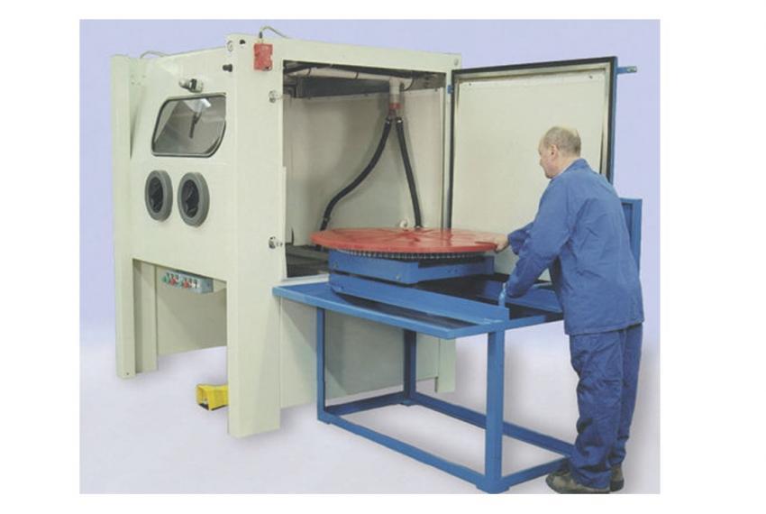 Wheelabrator Vaqua 92 Wet Blast Machine - Refurbished