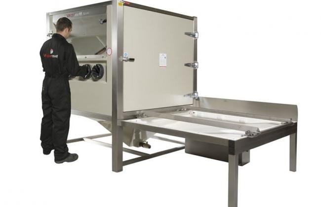 Vapormatt 1717 Wet Blasting Cabinet