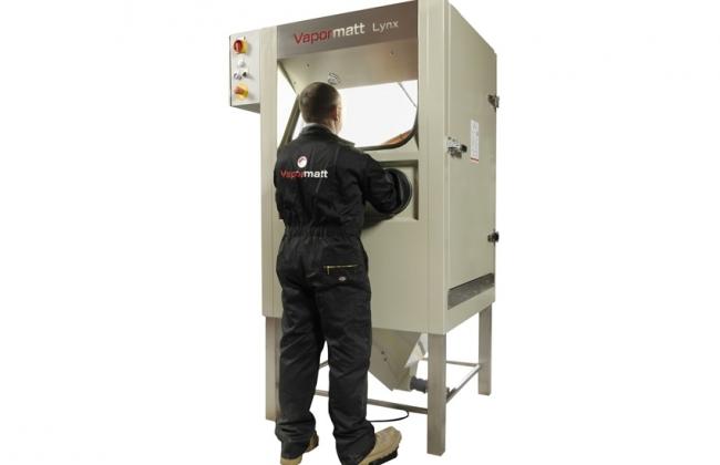 Vapormatt Lynx Wet Blasting Cabinet