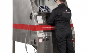 SMART alloy, Wheel repair, Vixen surface, Wet blasting machine