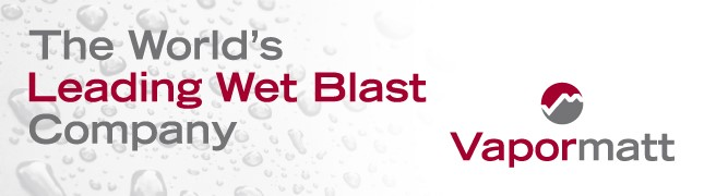 Vapormatt are a world leader in wet blasting machines, technology and developments.